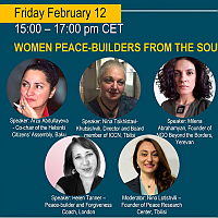 Women Peace-builders from the South Caucasus - join an interactive session on 12 February